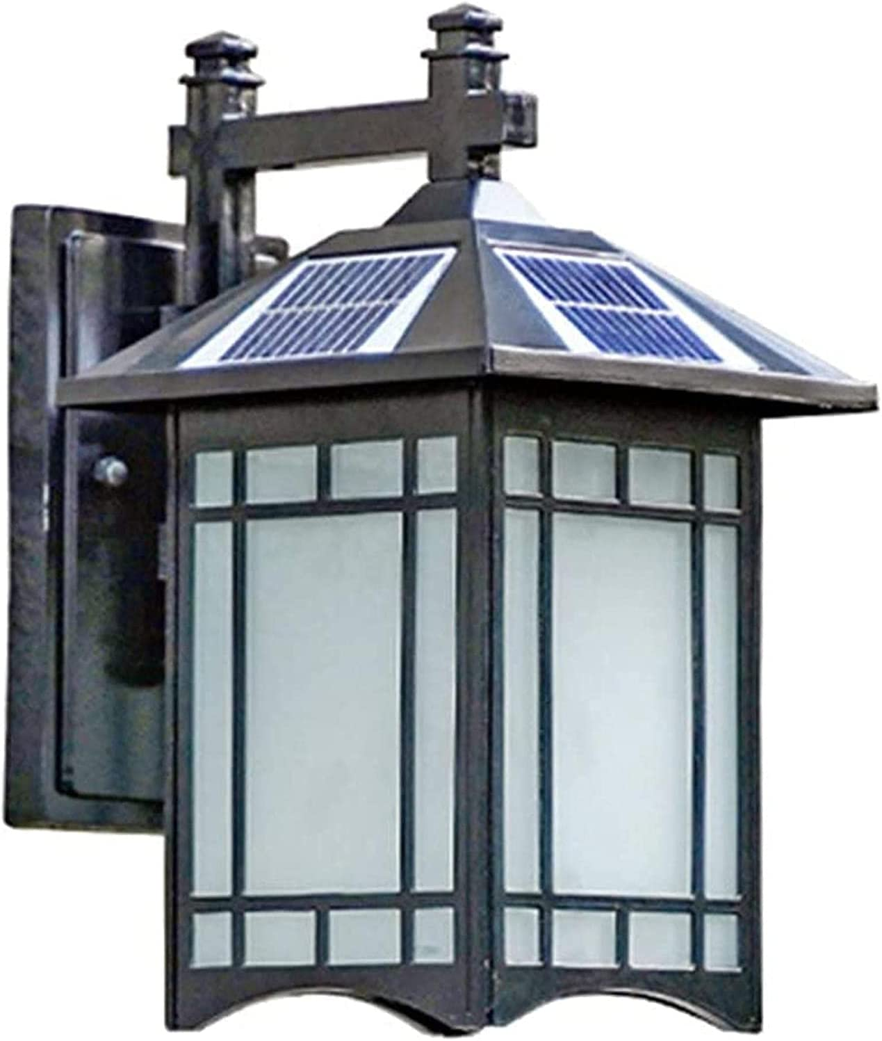 HAO KD Solar Lights Outdoor Lanterns Waterproof Vintage IP6 Wall Regular Japan's largest assortment discount