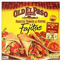 Old El Paso Roasted Tomato & Pepper Fajita Kit (500g) 古いエルパソローストトマトと唐辛子のファヒータキット( 500グラム)