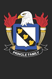 Pringle: Pringle Coat of Arms and Family Crest Notebook Journal (6 x 9 - 100 pages)