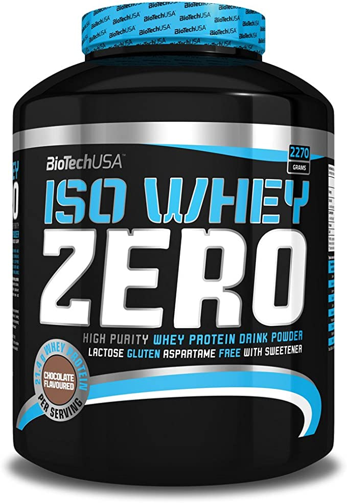 Biotech USA Iso Whey Zero - 2,27 kg Vanilla