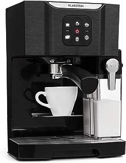 Klarstein BellaVita TotalBlack Edition Máquina de café -
