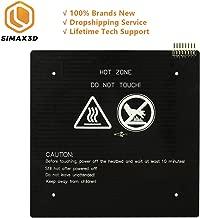 SIMAX 3D Printer Aluminum Heated Bed 24V 235x235mm, Updated Version of MK2B & MK2A - Hot Bed for Ender3, CR10, Black