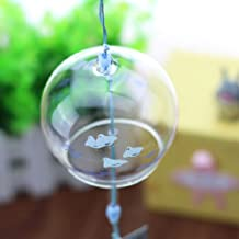 ACEVER Japanese Handmade Edo Furin Windchime Bell Suncatcher (Little Birds)