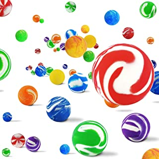 Nexxxi 250 Pieces Bouncy Balls Bulk - 27mm Bouncing Balls for Kid Party Favors, Bag Stuffers, Fun, Toy, Gift, Prize
