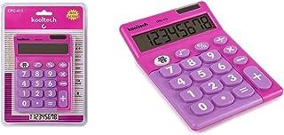 Kooltech 014866 rekenmachine, groot, roze