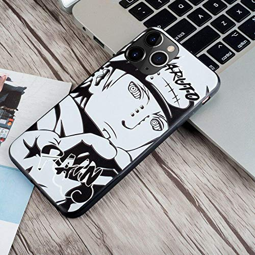 Funda de Cristal Templado para iPhone 6, 6S, 7, 8 Plus, X, XR, XS y XS MAX One Piece Luffy Zoro Paja Sombrero Cover-Photo_Color_11pro