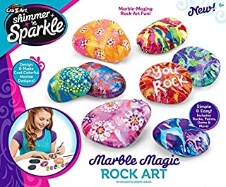 Cra Z Art Shimmer and Sparkle Marble Rock Art Crafts Kits