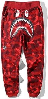 BAPE A Bathing Ape Shark Head Camouflage Sweatpants Men's Casual Jogging Pants
