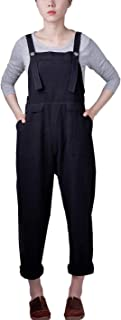 Gihuo Women's Casual Baggy Overalls Jumpsuit with Pockets