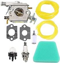 Buckbock C1U-W8 Carburetor with Gaskets for Poulan 1950 2050 2250 2375 2550 Craftsman Chainsaw Replace ZAMA C1U-W14 WT-89 WT-600 WT-624 WT-625 WT-891 Carb 545081885 530069703