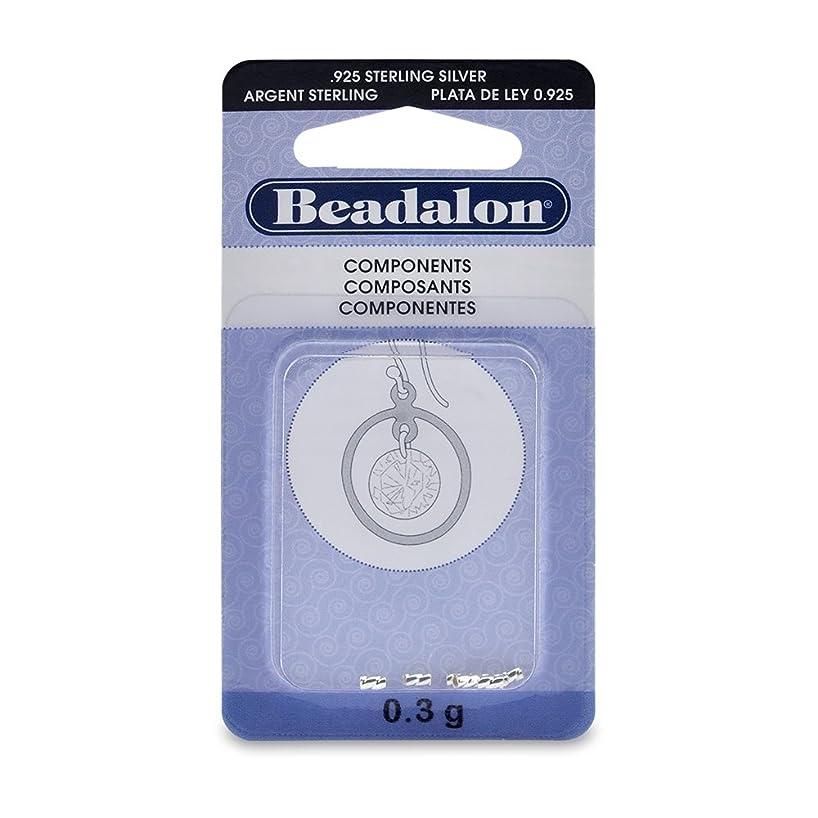 Artistic Wire Beadalon CrimpTwist 1.3mm Sterling Silver, 0.3G