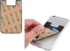 Alien UFO Bigfoot Funny Cute PU Leather Business Id Card Package RFID Credit Card Holder Clip Sleeve Wallet for Vehicle Car Luggage Door iPhone Samsung Huawei Cell Phone Case