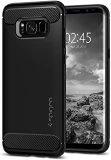 Spigen Rugged Armor Designed for Samsung Galaxy S8 Case (2017) - Black