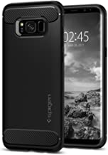 Spigen Rugged Armor Galaxy S8 Case Cover with Shock Absorption Compatible with Samsung Galaxy S8 (2017) - Black