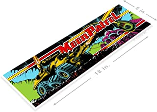 PosterGlobe Poster A504 Moon Patrol Arcade Shop Game Room Marquee Sign Retro Sign Retro Console 6