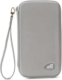 Surblue Money Belt with RFID Blocking Wallet-Travel Neck Pouch Passport Holder for Women&Men, Gray (Grey) - ZAHZB07A-Gray