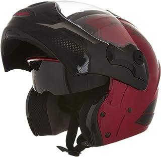 Capacete Mixs Captiva Street Rider 58 Vermelho