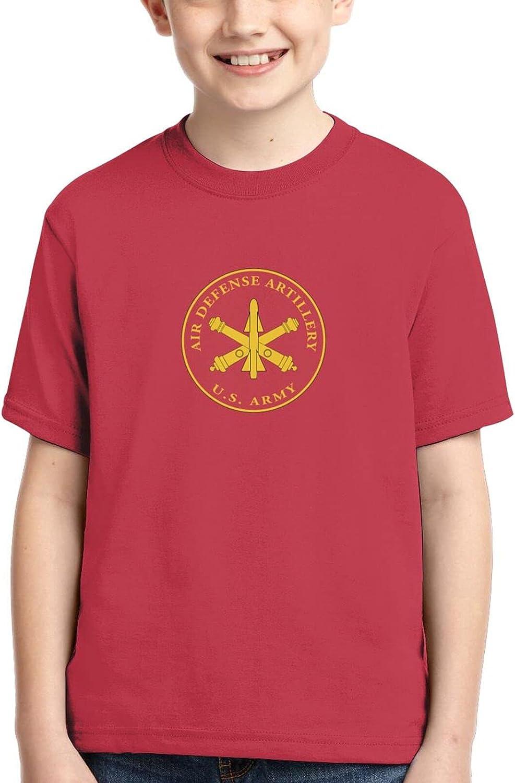 Changbaichubai Us Army Field Artillery Veteran W Branch Boys Soft Casual Children Tshirt Short Sleeve 3D