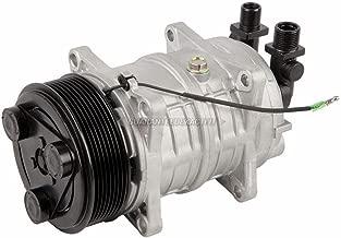AC Compressor & 8-Groove 123mm A/C Clutch Replaces Tama TM-16 12v Diesel Kiki 46120 - BuyAutoParts 60-02168NA NEW