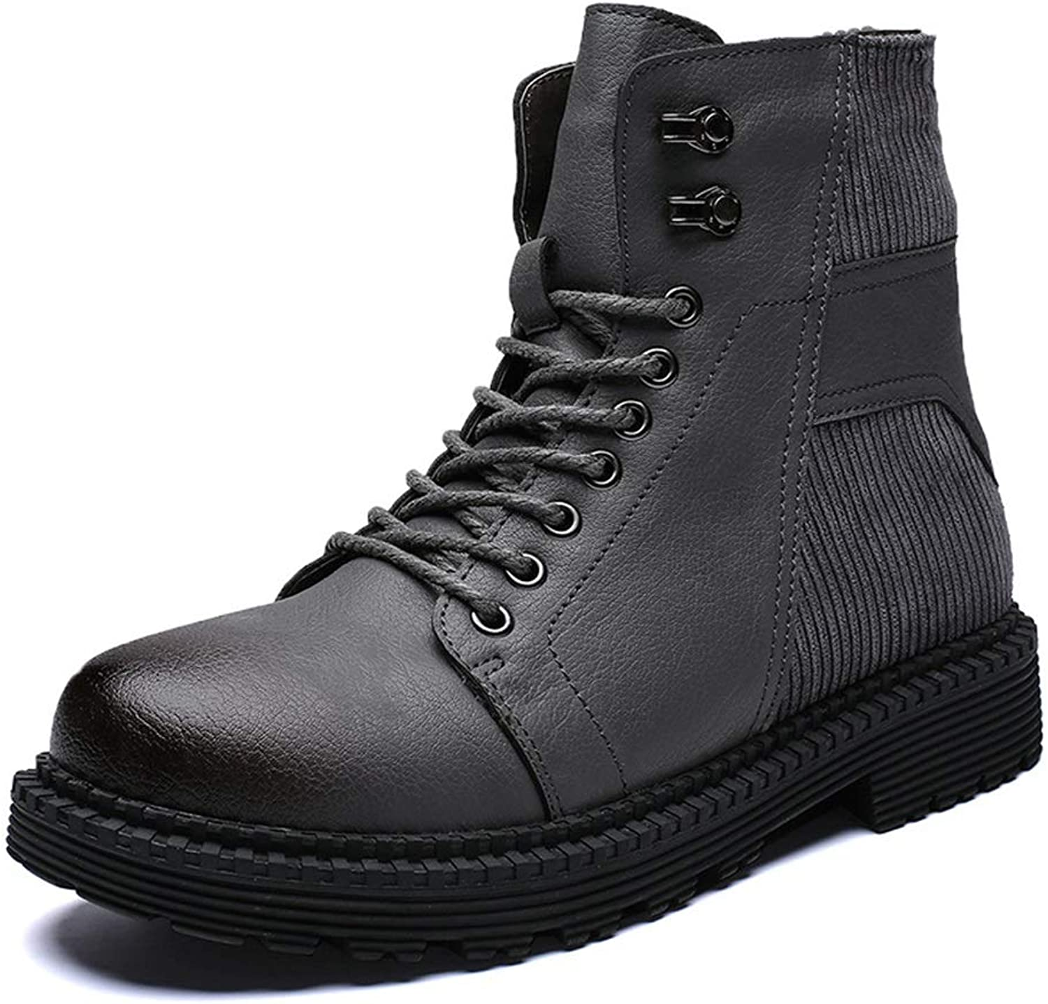 Men's Boots, Fall Winter New Retro Martin Boots Men's High-top Booties Casual Fashion Wild Large Size Boots 38-46 shoes