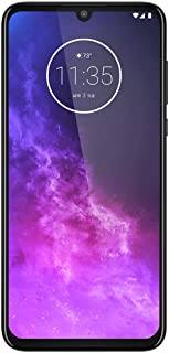 "Motorola One Zoom 128GB, 4GB RAM XT2010-1, 48MP Sensor Quad Pixel, 6.4"" Full HD+ LTE Factory Unlocked Smartphone - International Version (Grey Techno)"