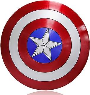 ZYER Escudo de Vestuario de Capitán América, Réplica De