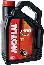 Motul 7100 4T Synthetic Ester Motor Oil - 20W50 - 4L. 836441 / 101380