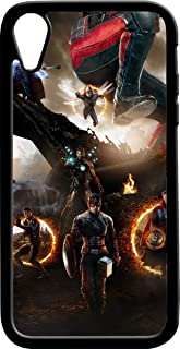 iPhone 6/7/6 Plus/7 Plus/X/Xs Max/XR Case,Avengers Endgame Apple iPhone 6/7/6 Plus/7 Plus/X/Xs Max/XR Case with Heavy Duty Protection/Shock Absorption/Soft TPU (iPhone XR)