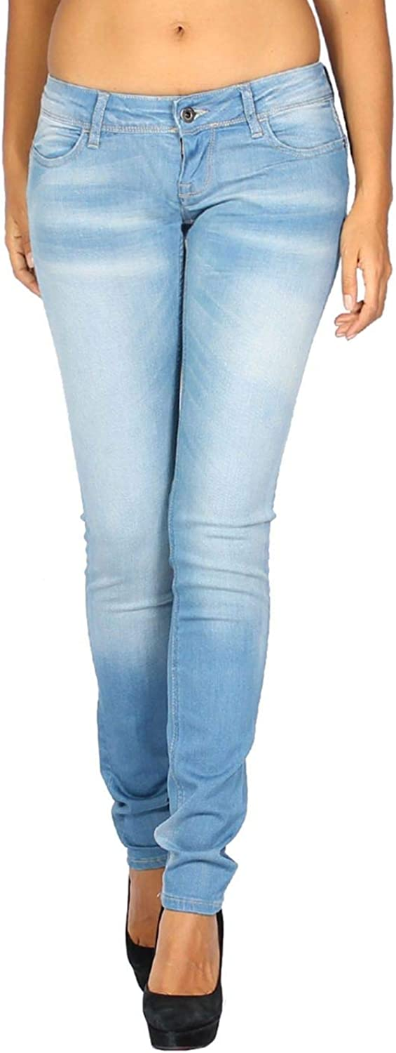 MELTIN'POT  Women's Jeans Monie  Skinny Pushup  bluee, W31   L34