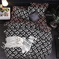 ホームアクセサリー寝具セットアメリカンスタイル寝具セットAUUSFRサイズ枕カバー&羽毛布団カバーセット9サイズシートなしフィラーなし8USツイン3個