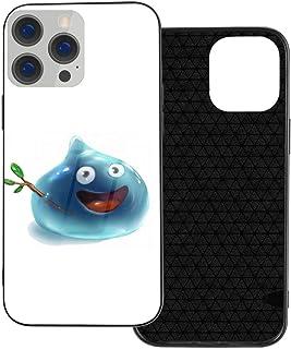 Iphone 12 シリーズ 携帯カバー スマホケース Dragon Quest スライム Slime 強化ガラスケース ハードケース 電話の殻