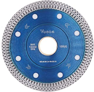 Vceoa 4 Inch Super Thin Diamond Saw Blade for Cutting Porcelain Tiles,Granite Marble Ceramics (4