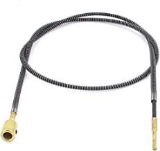 Sourcingmap a13042300ux0623-3.2ft de metal cable eje flexible para la amoladora de banco taladro