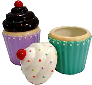 Best cupcake ceramic container Reviews