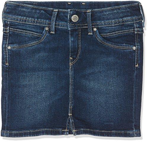 Pepe Jeans Pepe Jeans Mädchen MONIA Rock, Blau (Denim), Herstellergröße: 12