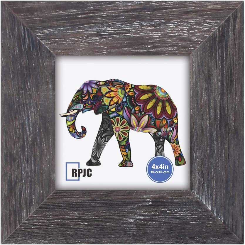 RPJC 4x4 inch Picture Frame Made of Solid Wood High Definition G