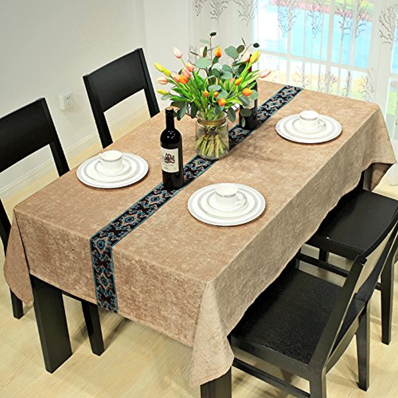 WFLJL Modern Und Minimalistisch Tischdecke Dekoriert Wohnzimmer Couchtisch Einem Rechteckigen Deckel Gelb 130  160 cm B075RZSS8G Preisrotuktion   | Die erste Reihe von umfassenden Spezifikationen für Kunden