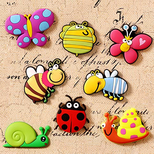 KOPADA Baby Magnets,Animal Fridge Magnets for Kids,Insect Cute Magnets
