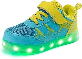 Led Sneakers Light Up Flashing Shoes Toddler Little/Big Kid Boy Girl Christmas
