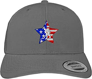 Custom Snapback Baseball Cap Sport American Flag Hockey Embroidery Team Cotton
