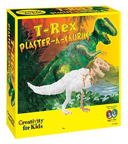 Creativity for Kids - Cfk1152 - Kit De Loisirs Créatifs - Plaster-a- Saurus - Squelette De Dinosaure en Plâtre