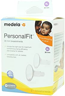 Medela PersonalFit Breastshields (2), Size: X-Large (30mm) in Retail Packaging (Factory Sealed) #87075