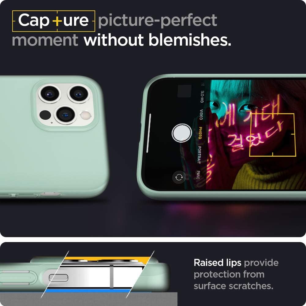 Spigen Thin Fit Designed for Apple iPhone 12 Pro Max Case (2020) - Mint