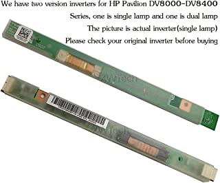 New Single Lamp LCD Inverter For HP Pavilion DV8000 DV8000T DV8000xx DV8100 DV8200 DV8300 DV8400 Series PK070005S00 PK070008B00