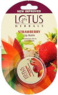 Lotus Herbals Lip Balm | Strawberry | 5g