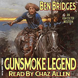 Gunsmoke Legend audiobook cover art