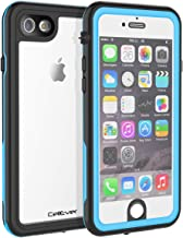 CellEver iPhone 6 / 6s Clear Case Waterproof Shock Absorbing IP68 Certified SandProof Snowproof Full Body Protective Transparent Cover Fits Apple iPhone 6 and iPhone 6s (4.7