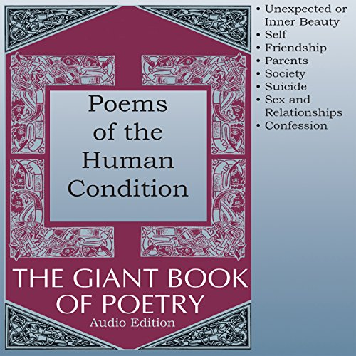 Poems of the Human Condition audiobook cover art