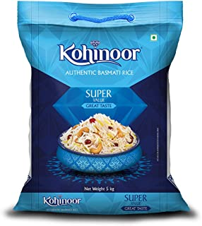 Kohinoor Super Value Authentic Basmati Rice, 5 Kg Pack