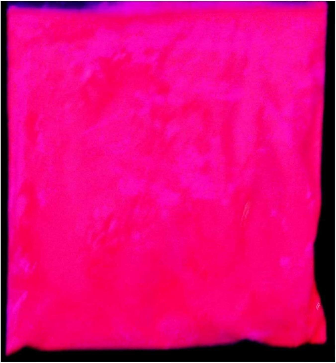 KIRALOVE Pigmento Fluorescente - tintes - Rosa Fucsia - Idea de Regalo Original - Brilla en Contacto con luz Negra - luz Ultravioleta - Polvo Fino de ...